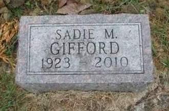 GIFFORD, SADIE MARIE - Madison County, Iowa | SADIE MARIE GIFFORD