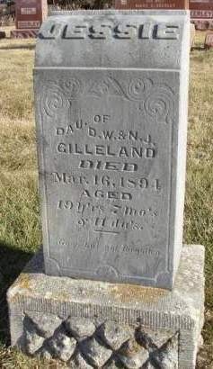 GILLELAND, JESSIE - Madison County, Iowa | JESSIE GILLELAND