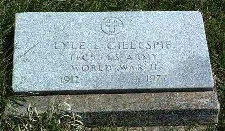 GILLESPIE, LYLE LOVE - Madison County, Iowa | LYLE LOVE GILLESPIE