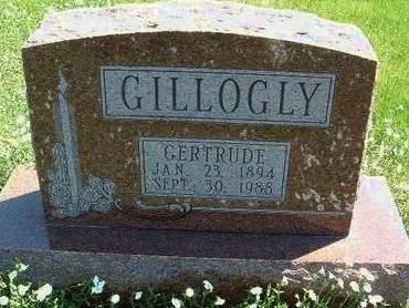 GILLOGLY, GERTRUDE - Madison County, Iowa   GERTRUDE GILLOGLY