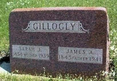 GILLOGLY, JAMES ASBURY - Madison County, Iowa   JAMES ASBURY GILLOGLY
