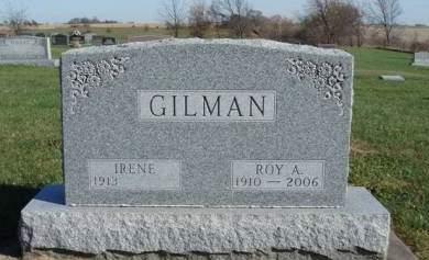 GILMAN, ROY ALBERT - Madison County, Iowa   ROY ALBERT GILMAN