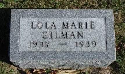 GILMAN, LOLA MARIE - Madison County, Iowa | LOLA MARIE GILMAN