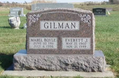 GILMAN, EVERETT J. - Madison County, Iowa | EVERETT J. GILMAN
