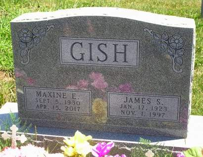 GISH, JAMES SMEDLEY - Madison County, Iowa | JAMES SMEDLEY GISH