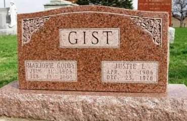 GIST, MARJORIE - Madison County, Iowa | MARJORIE GIST