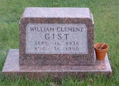 GIST, WILLIAM CLEMENT - Madison County, Iowa | WILLIAM CLEMENT GIST