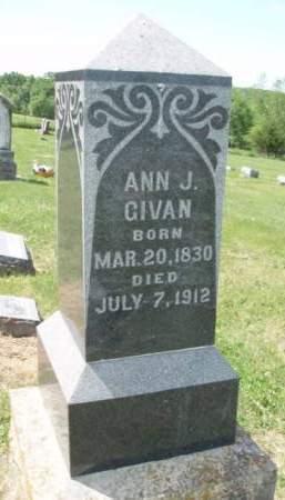 GIVAN, ANNA JANE - Madison County, Iowa | ANNA JANE GIVAN