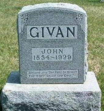 GIVAN, JOHN - Madison County, Iowa   JOHN GIVAN