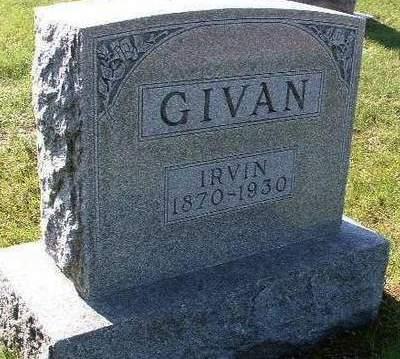 GIVAN, IRVIN - Madison County, Iowa | IRVIN GIVAN