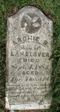 GLOVER, ARCHIE D. - Madison County, Iowa   ARCHIE D. GLOVER