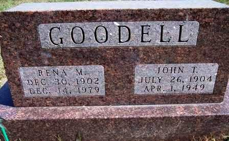 GOODELL, JOHN TAYLOR - Madison County, Iowa | JOHN TAYLOR GOODELL