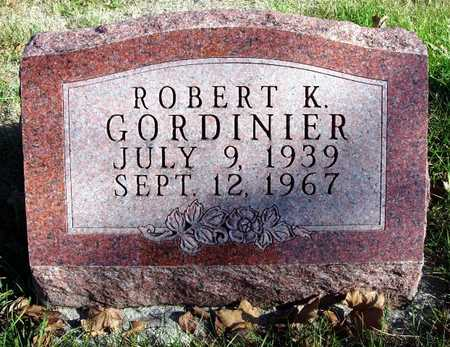 GORDINIER, ROBERT K. - Madison County, Iowa | ROBERT K. GORDINIER