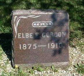 GORDON, ELBE ELLSWORTH - Madison County, Iowa | ELBE ELLSWORTH GORDON