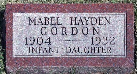 GORDON, INFANT - Madison County, Iowa   INFANT GORDON