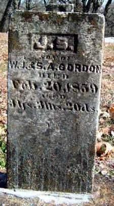 GORDON, J.  S. - Madison County, Iowa | J.  S. GORDON