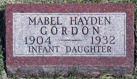 GORDON, MABEL - Madison County, Iowa | MABEL GORDON