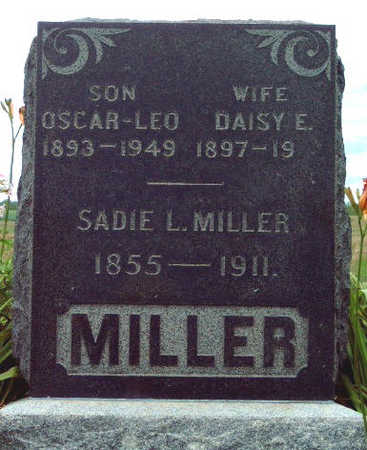 GORDON MILLER, DAISY ESTHER - Madison County, Iowa | DAISY ESTHER GORDON MILLER