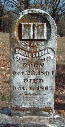 GORDON, SARAH ANN - Madison County, Iowa | SARAH ANN GORDON