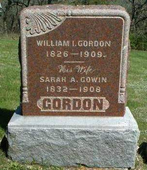 GORDON, WILLIAM IRVIN - Madison County, Iowa | WILLIAM IRVIN GORDON