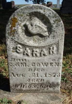 GOWEN, SARAH H. - Madison County, Iowa   SARAH H. GOWEN