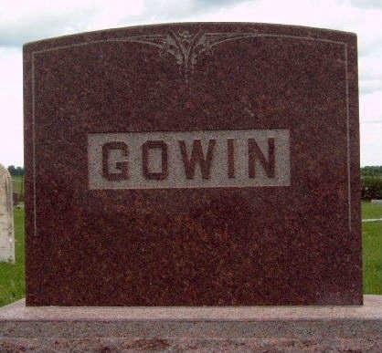 GOWIN, FAMILY STONE - Madison County, Iowa | FAMILY STONE GOWIN