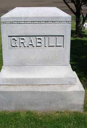 GRABILL, FAMILY HEADSTONE - Madison County, Iowa   FAMILY HEADSTONE GRABILL