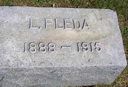 GRABILL, L. FLEDA - Madison County, Iowa   L. FLEDA GRABILL