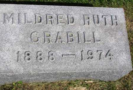 GRABILL, MILDRED RUTH - Madison County, Iowa | MILDRED RUTH GRABILL