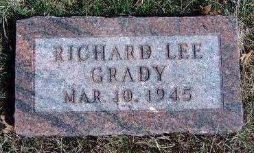 GRADY, RICHARD LEE - Madison County, Iowa | RICHARD LEE GRADY