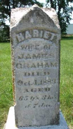 GRAHAM, HARRIET - Madison County, Iowa | HARRIET GRAHAM