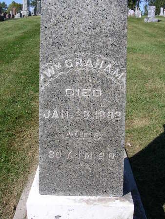 GRAHAM, WILLIAM MILLS - Madison County, Iowa | WILLIAM MILLS GRAHAM
