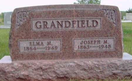LOGSDON GRANDFIELD, ELMA MYRTLE - Madison County, Iowa | ELMA MYRTLE LOGSDON GRANDFIELD