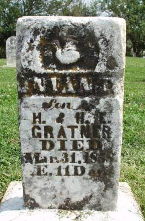 GRATNER, INFANT - Madison County, Iowa | INFANT GRATNER
