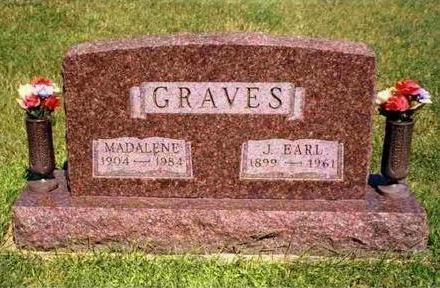 GRAVES, JOSEPH EARL - Madison County, Iowa   JOSEPH EARL GRAVES