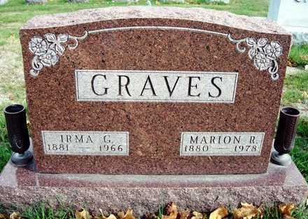 GRAVES, MARION RUFUS - Madison County, Iowa | MARION RUFUS GRAVES