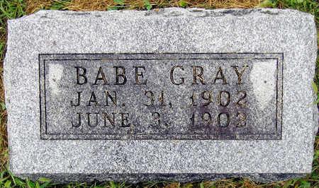 GRAY, BABE - Madison County, Iowa | BABE GRAY