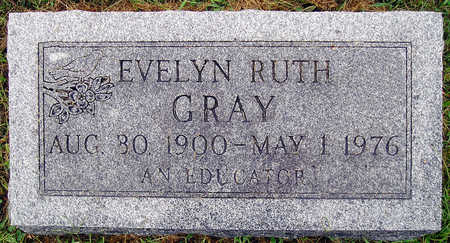 GRAY, EVELYN RUTH - Madison County, Iowa | EVELYN RUTH GRAY