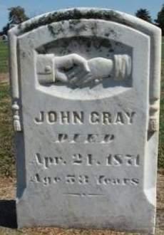 GRAY, JOHN - Madison County, Iowa   JOHN GRAY