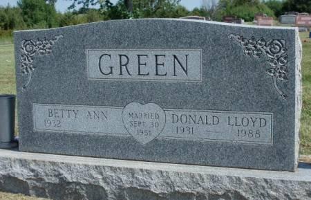 GREEN, BETTY ANN - Madison County, Iowa | BETTY ANN GREEN