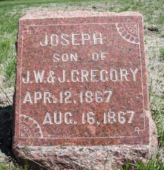 GREGORY, JOSEPH - Madison County, Iowa   JOSEPH GREGORY