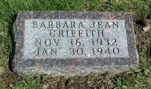 GRIFFITH, BARBARA JEAN - Madison County, Iowa | BARBARA JEAN GRIFFITH