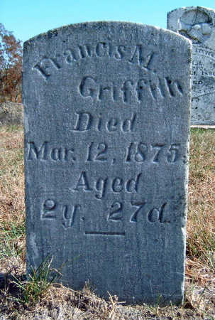 GRIFFITH, FRANCES MATILDA - Madison County, Iowa   FRANCES MATILDA GRIFFITH