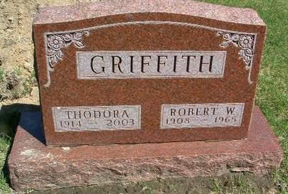 GRIFFITH, THEODORA - Madison County, Iowa | THEODORA GRIFFITH