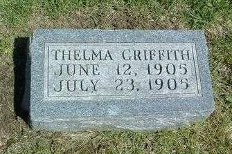 GRIFFITH, THELMA - Madison County, Iowa | THELMA GRIFFITH