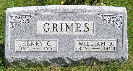 GRIMES, WILLIAM  R. - Madison County, Iowa | WILLIAM  R. GRIMES