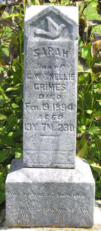 GRIMES, SARAH - Madison County, Iowa | SARAH GRIMES