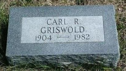 GRISWOLD, CARL RALPH - Madison County, Iowa | CARL RALPH GRISWOLD