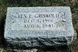 GRISWOLD, REX EUGENE - Madison County, Iowa | REX EUGENE GRISWOLD