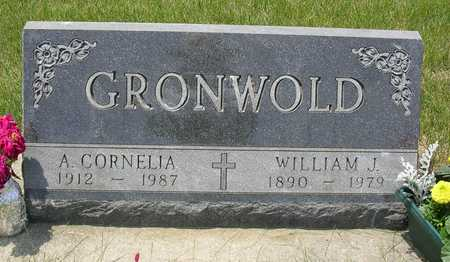 GRONWOLD, WILLIAM JOHN CONRAD - Madison County, Iowa | WILLIAM JOHN CONRAD GRONWOLD